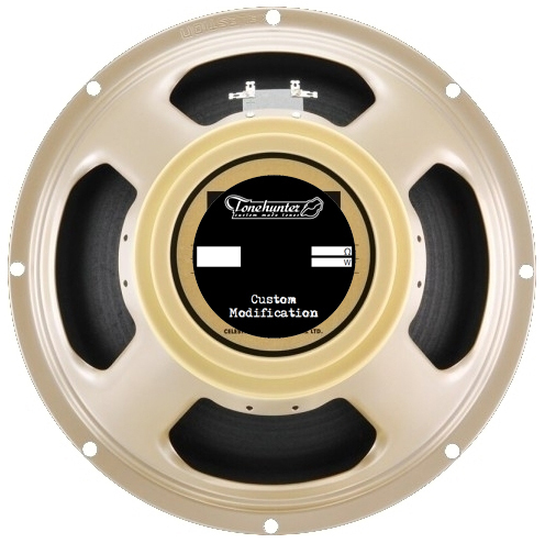 Celestion G12-M 65 Creamback (8 Ohm) with Tonehunter Mod